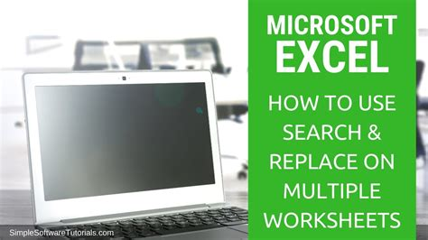 tutorial    search replace  multiple
