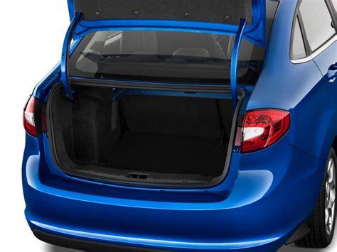image  ford fiesta  door sedan sel trunk size