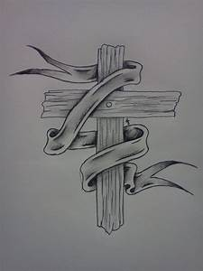 Wooden cross by sitting-in-silence on DeviantArt