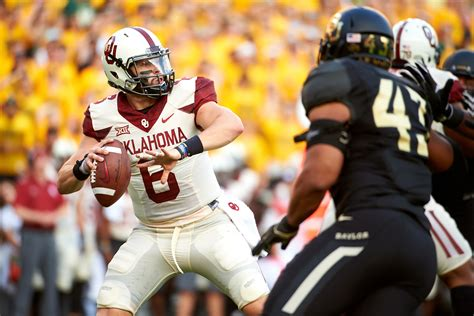 oklahoma mayfield baker browns sooners football cleveland nfl baylor draft links ou fan qb iowa
