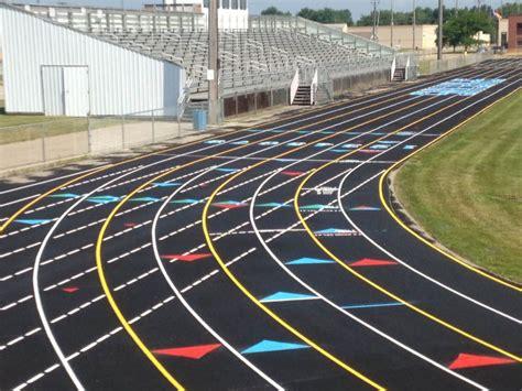 Michigan Running Track Construction Company   Goddard