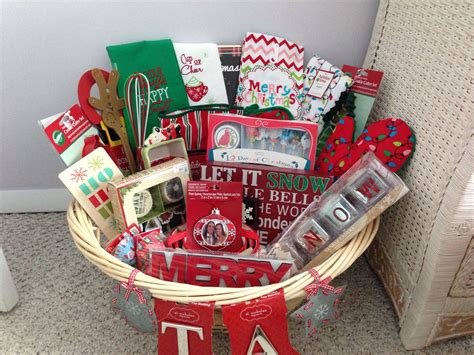 Bridal Shower Holiday Basket-christmas