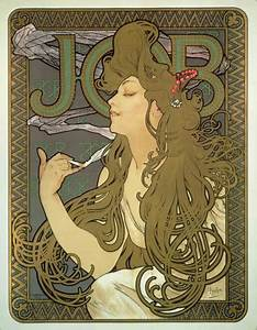 Poster for 'Job' cigarette paper - Browse Works - Gallery ...