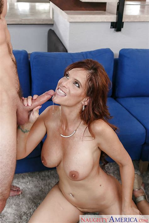 Busty Cougar Syren De Mer Seducing Her Sons Best Friend