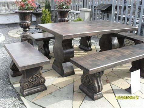 concrete garden furniture for sale in waterford city