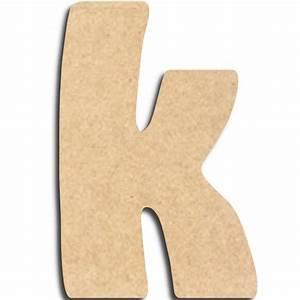 Lettre En Bois A Peindre : lettre en bois peindre k minuscule lettre bois ~ Dailycaller-alerts.com Idées de Décoration