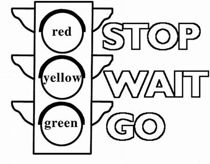 Traffic Coloring Stop Signs Printable Sign Pages