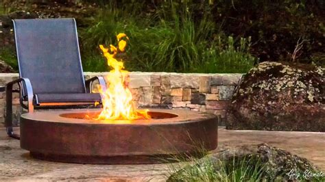 Cool Metal Fire Pit Designs