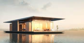 Ecologically responsible and sustainable design of floating house  Floating House In The Sky