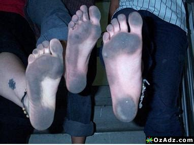 Slave Cleaning Dirty Feet