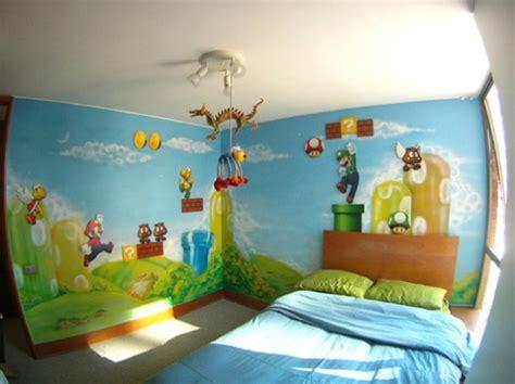 chambre mario bros chambres décorés sur le thème de wars