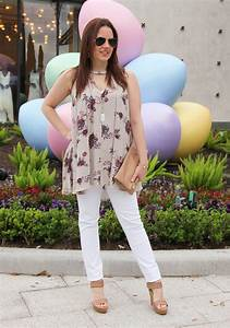 Casual Easter Outfit - Lady in VioletLady in Violet
