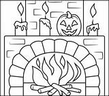 Coloring Halloween Fireplace Number Printables Pages Printable Numbers Christmas Sheets Easy Related Games Apps Coloritbynumbers sketch template