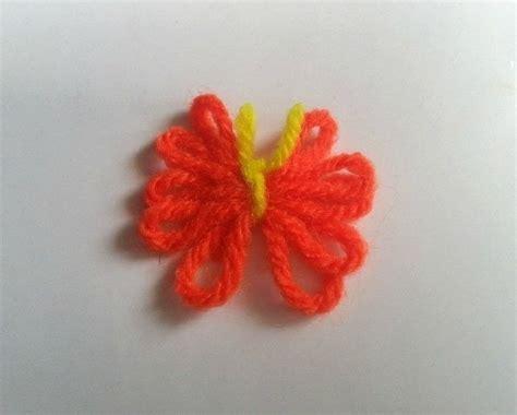 diy cute yarn butterfly     butterfly plushie
