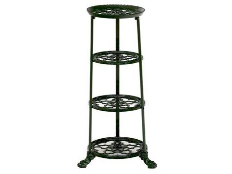 decorative shelf cast iron pot tower kitchen saucepan stand