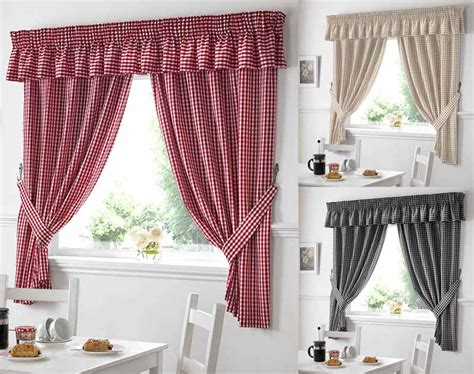 Country Style Kitchen Curtains Design  Way To Extend