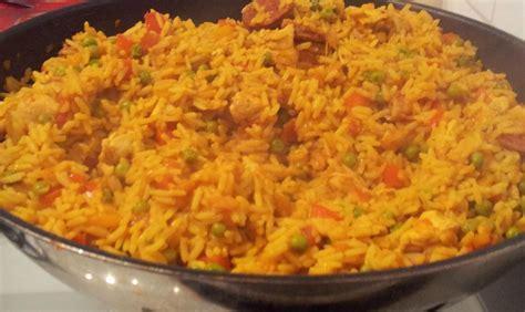 riz au poulet 224 l espagnole recette az