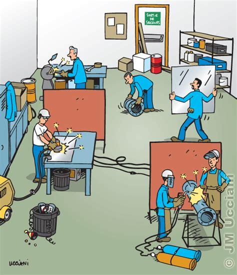 risques professionnels bureau jm ucciani dessinateursécurité en atelier dessins de