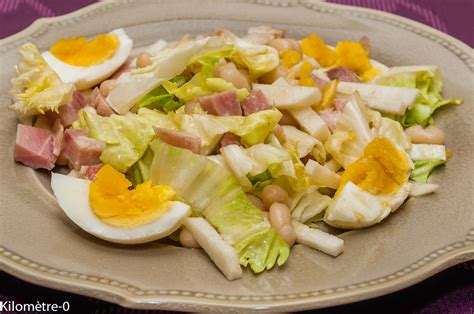 cuisiner avec les restes salade de haricots blancs au jambon oeufs et radis noir kilometre 0 fr