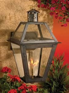 Contemporary Lantern Lighting Elk Lighting 7933 Wp Grande Isle Outdoor Gas Wall Lantern