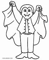 Vampire Coloring Pages Dracula Vampires Halloween Cool2bkids Printable Drawing Colouring Scary Diaries Sheets Cartoon Anime Children Getcolorings Getcoloringpages Visit King sketch template