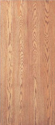 flush solid core interior red oak stain grade wood doors