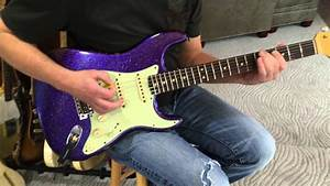 1963 2015 Purple Sparkle Fender Custom Shop Relic Strat