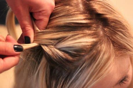 Haare Hochstecken Schritt Für Schritt Haare Toupieren Schritt F R