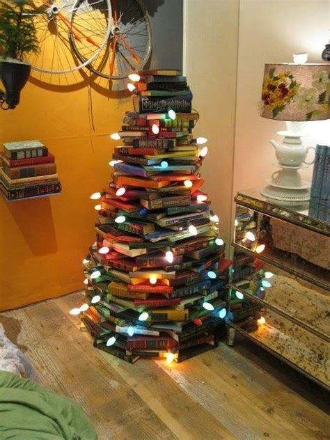 15 christmas trees out of books home design garden architecture blog magazine