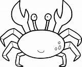 Crab Coloring Mason Printables sketch template