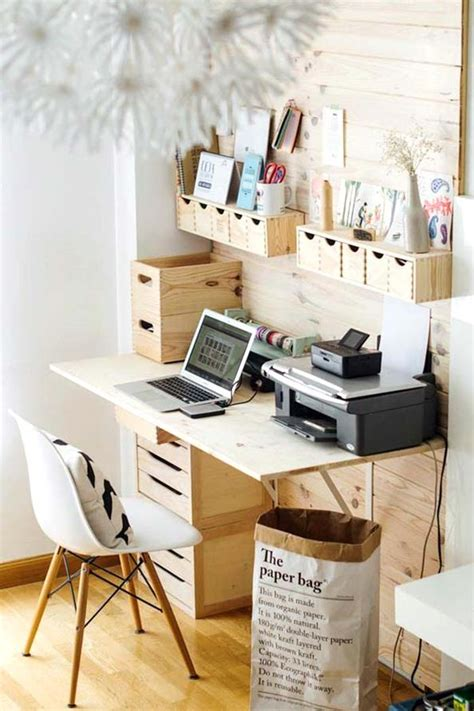 bureau en pin ikea top 30 stunning diy projects to organize your office sky