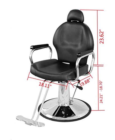 exacme reclining hydraulic barber chair salon spa