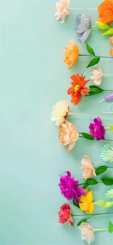 aesthetic iphone pastel floral wallpaper hd flower