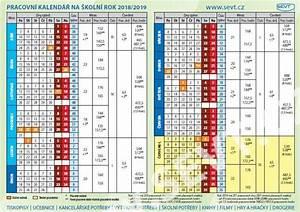 Plánovací kalendář školní rok 20182019 SEVTcz