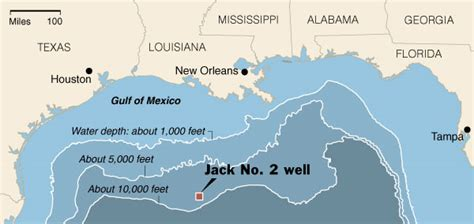 big oil find  reported deep  gulf   york times