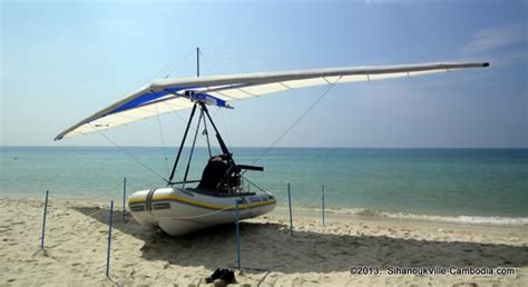 Lomac Flying Inflatable Boat by Flying Boat Cambodia In Sihanoukville Cambodia
