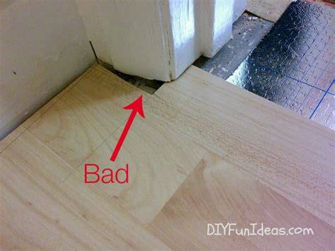 how to fit a laminate floor how to install beautiful laminate floors in one afternoon do it yourself fun ideas