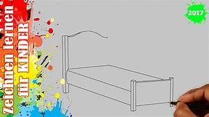 Bett Malen Bett Zeichnen In 50s Zeichnen Lernen F R Anf Nger Kinder