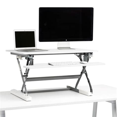 Standing Desk Using Bed Risers by 17 Best Ideas About Desk Riser On Office
