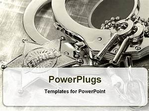 Best powerpoint template handcuffs with keys for law for Law enforcement powerpoint templates