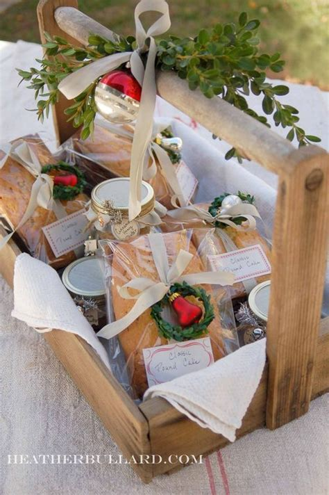 unique food gifts for christmas food gifts unique ideas for the holidays cinnamon honey butter pound cakes and