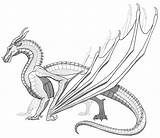 Skywing Base Wings Fire Dragon Coloring Sandwing Template Dragons Rainwing Drawing Nightwing Drawings Sketch Silkwing Feu Dessin Sunny Templates Deviantart sketch template