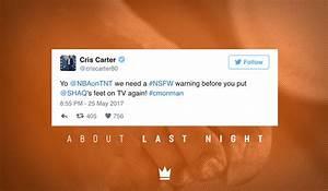 #AboutLastNight: 16 Hysterical Tweets Roasting Shaq's Feet ...