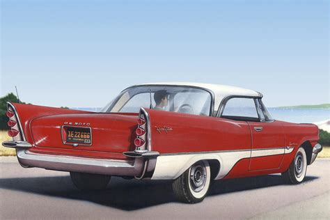 1957 De Soto Car Nostalgic Rustic Americana Antique Car
