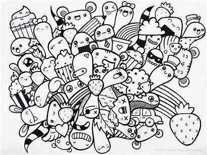 Doodle Piccandle Strawberry Wallpapers Deviantart Shortcut Wallpapersafari