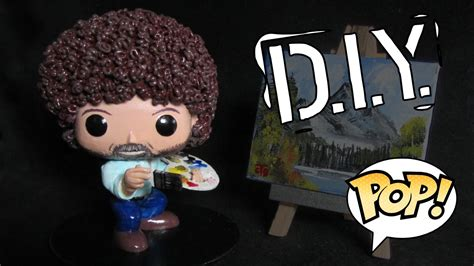 Making Bob Ross As A Pop! Custom, Diy Funko