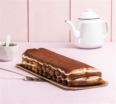 This sweet treat may also contain alcohol in some cases, although this ingredient is not required to make this dessert. Trancio di Tiramisu Coffee liqueur soaked biscuits smothered with soft mascarpone and zabaione ...