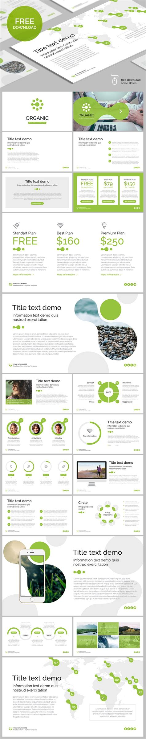 35 Best Free Powerpoint Templates For Professional 35 Best Free Keynote Template Images On