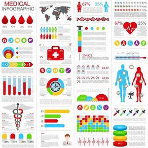 Set Of Medical Infographic Vector Design Template  Can Be