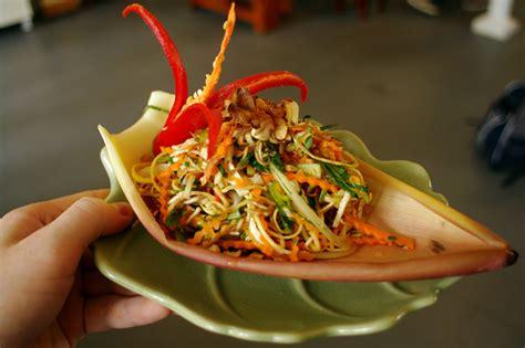 cuisine store banana flower salad samui times